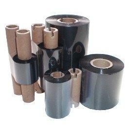 Термотрансферная лента для принтера этикеток TTR 57мм х 74мм, wax