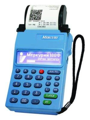 МЕРКУРИЙ 180Ф кассовый аппарат (ККМ) под 54 ФЗ.