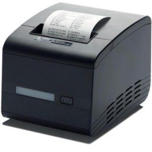 Чековый принтер TRP80USE с автоотрезом (USB,Ethernet, RS, звонок, дисплей)